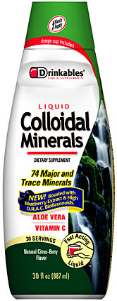 Liquid Colloidal Minerals
