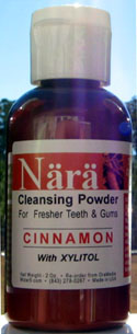 2oz. Nara Cleansing Powder for Teeth & Gums