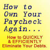 How to own your own paycheck again...