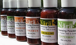 Nara Cleansing Powder Holiday Sampler - 6 Flavors